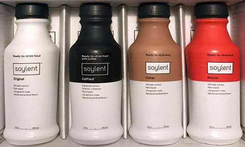 California based vegan meal replacement drink Soylent