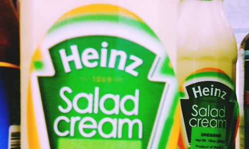 heinz decides not rename salad cream sandwich cream