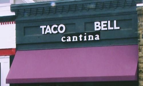 connecticut taco bell cantina alcohol menu
