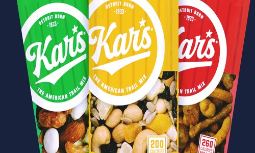 kars nuts candy maker sanders detroit brands