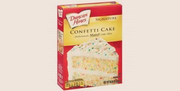 Duncan Hines recalls cake mix over suspected salmonella contamination