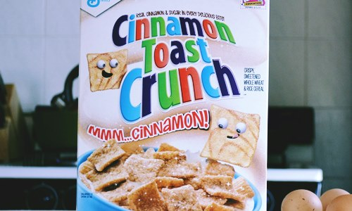 Cinnamon Toast Crunch Churros cereal